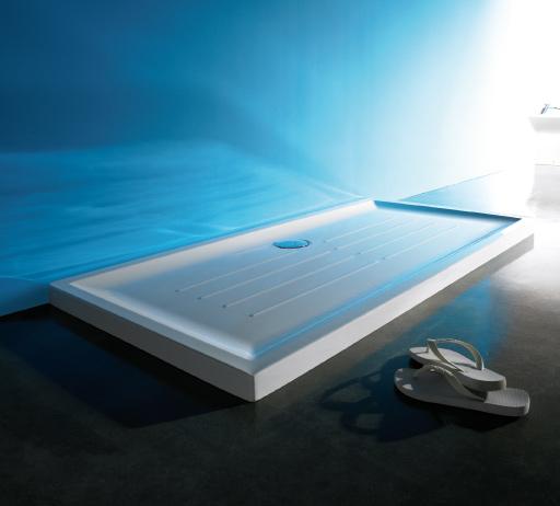 <p>Base Chuveiro Vita</p><p>Base chuveiro com 5,5 cm de espessura, em chapa acrílica sanitaria  Disponívelem vários tamanhos  </p>