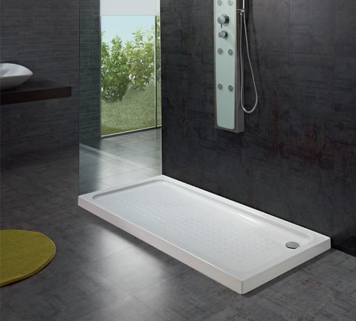 <p>Base Chuveiro Julia</p><p>Base chuveiro com espessuras de 3,5 (para encastrar), 7,5 ou 15 cm em chapa acrílica sanitária  Disponível em vários tamanhos  </p>