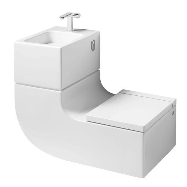 <p>WW - Roca</p><p>Sanita e Lavatorio W+W (Roca)  Sanita e lavatório suspensos numa peça única suspensa, onde a água do lavatório poderá ser aproveitada para a sanita  </p>